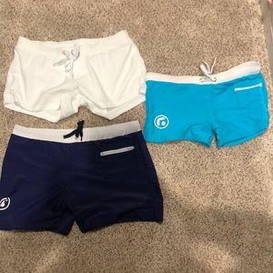 Short men's swimming shorts